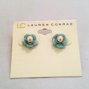 5 FOR $30 LC LAUREN CONRAD FLOWER STUD EARRINGS